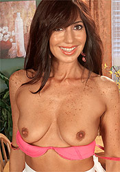 Freckle chested women porn